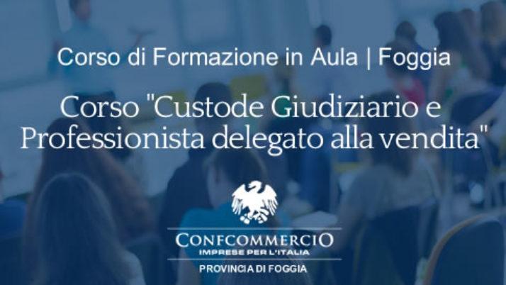 Foggia | Corso di formazione in aula con relatori dell'ACGDV