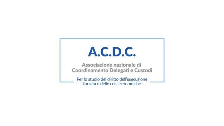Evento | Seminario telematico organizzato dalla A.C.D.C.